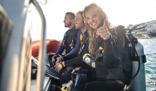 IDDA Diving courses for beginners